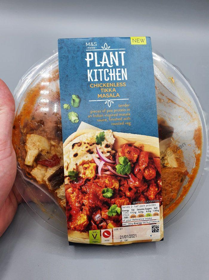 M&S Plant Kitchen Chickenless Tikka Masala