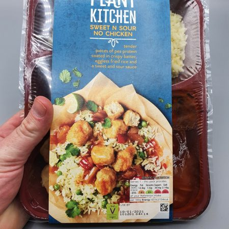 M&S Plant Kitchen Sweet N' Sour No Chicken