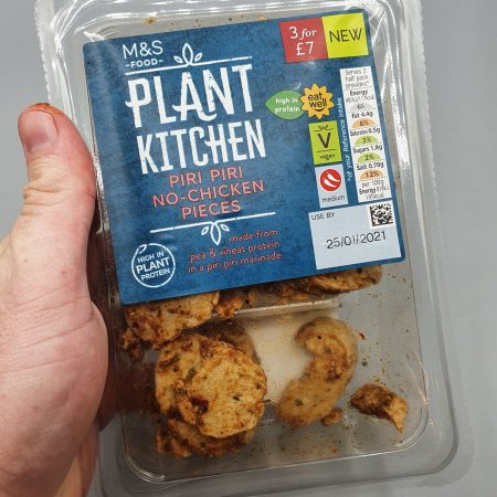 M&S Plant Kitchen Piri Piri No Chicken Pieces