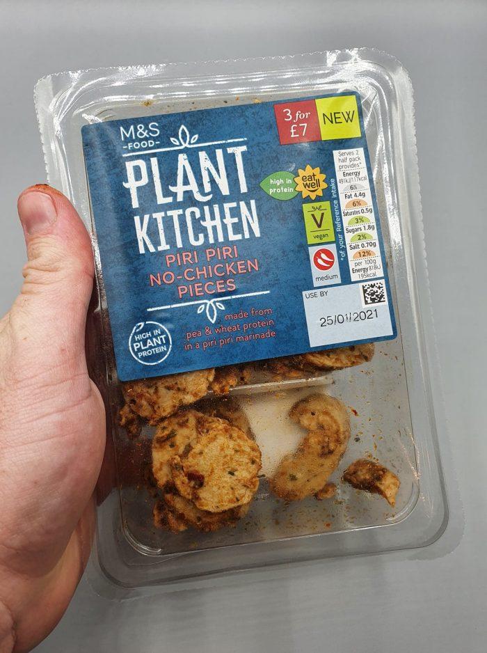 M&S Plant Kitchen Piri Piri No Chicken Pieces