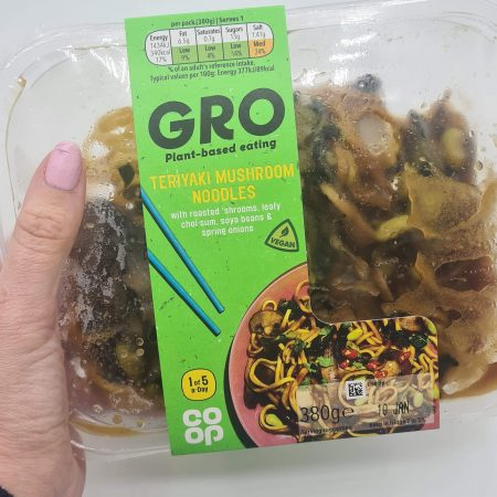 Co-op Gro Teriyaki Mushroom Noodles 380g