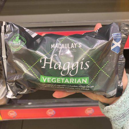 Macaulay's Vegetarian Haggis