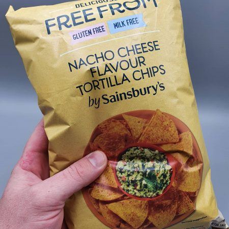 Sainsbury's Nacho Cheese Flavour Tortilla Chips 200g