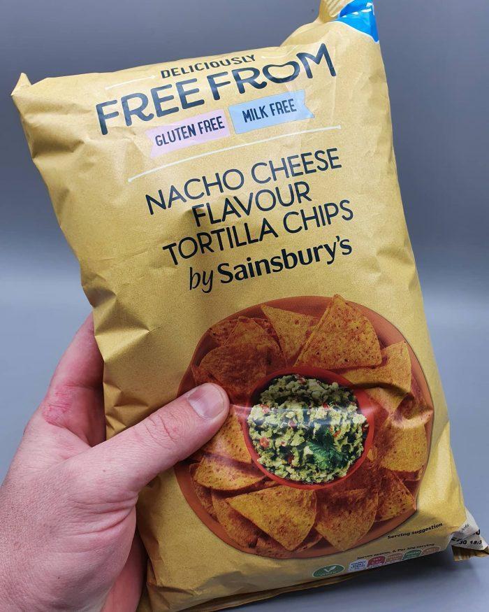 Sainsbury's Nacho Cheese Flavour Tortilla Chips 200g