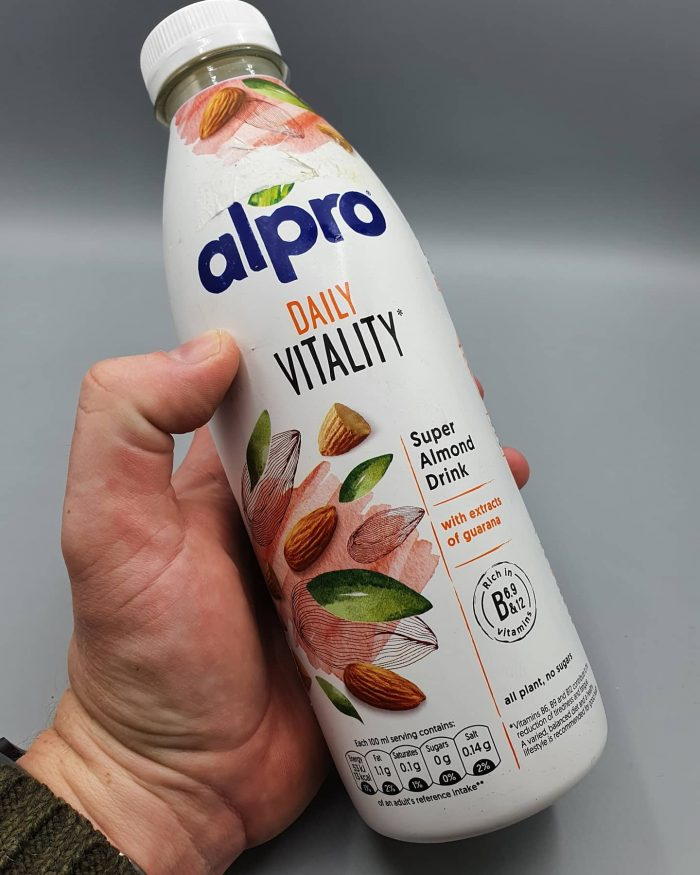 Alpro Daily Vitality Almond with Guarana Drink 750ml