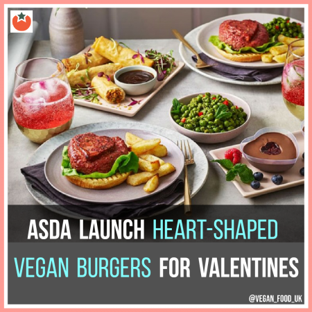 Asda Have Just Launched Their Vegan Valentine's Menu