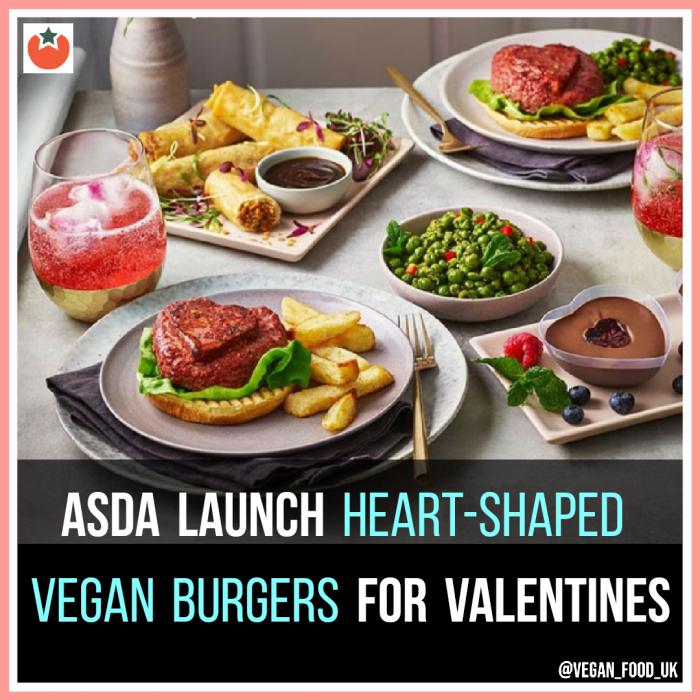 Asda Have Just Launched Their Vegan Valentine's Menu