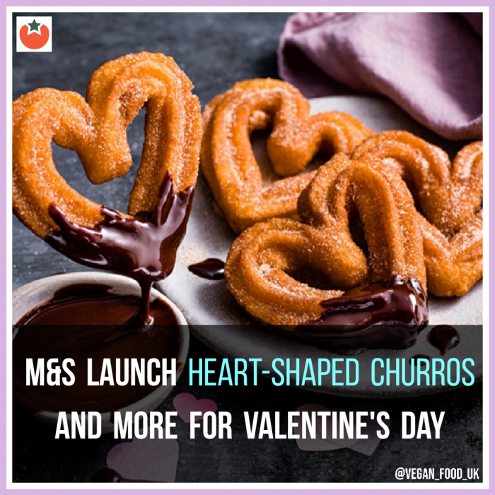 M&S Launch Vegan Valentine's Meal For Two