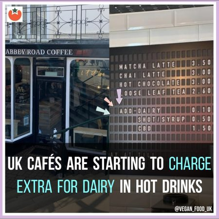 UK Cafes Are Starting To Charge Extra If You Want Dairy