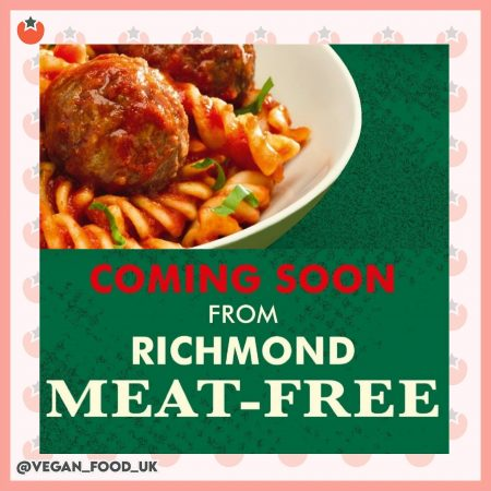 Richmond To Launch Their Next Vegan Product