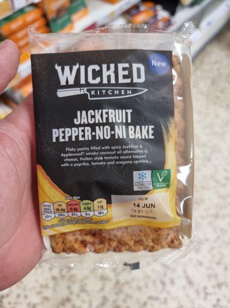 Jackfruit & Pepperoni Bake
