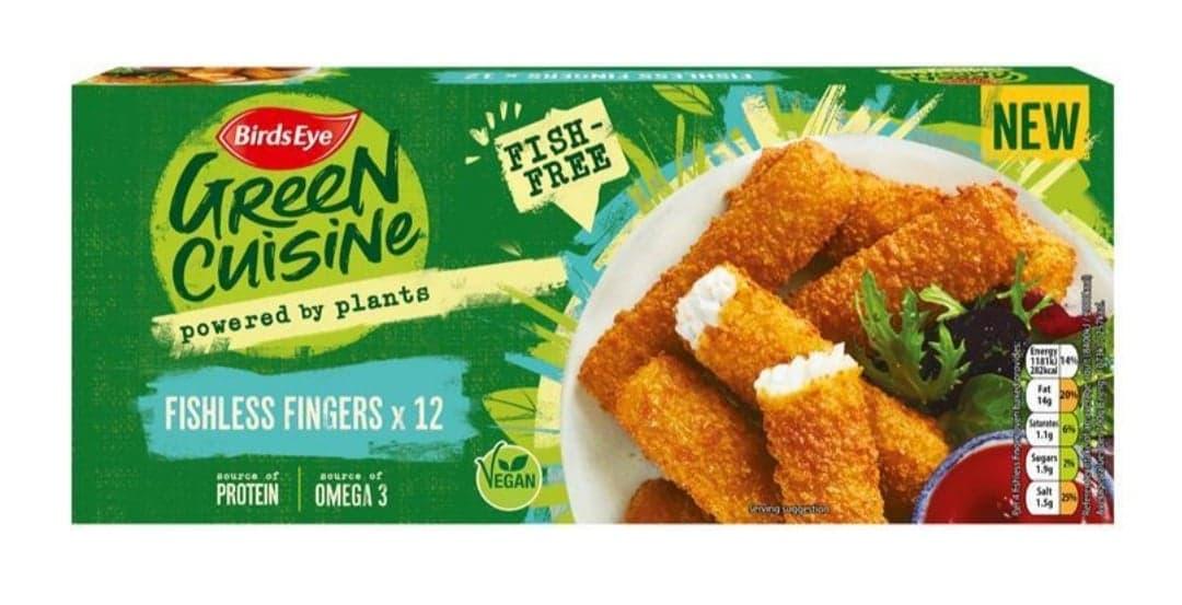 BirdsEye Green Cuisine Fish Fingers