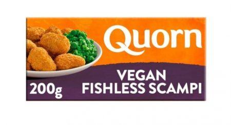 Example of a vegan fish alternative