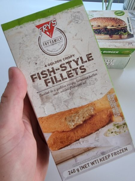 Example of vegan fish alternatives