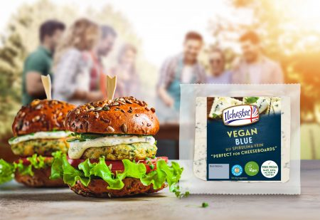 Ilchester Vegan Blue Pack Shot & Product Use