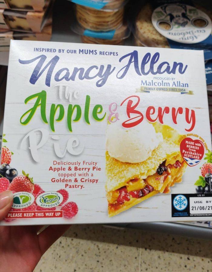 Nancy Allan The Apple & Berry Pie