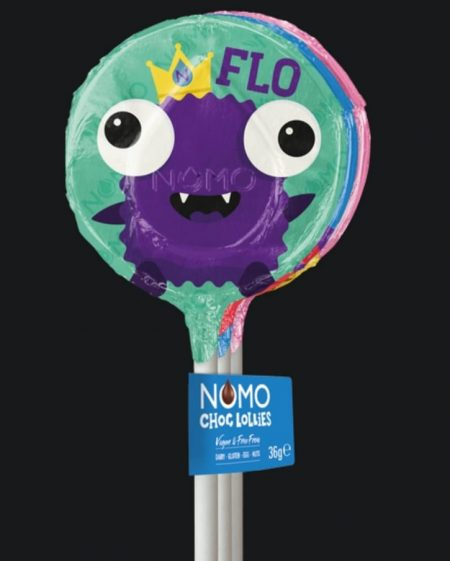 Image of the NOMO Chocolate Lollie Pops
