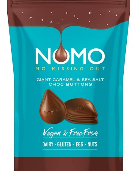 Image of the new NOMO Chocolate Buttons
