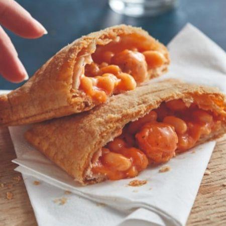First Look at Greggs' New Vegan Sausage & Bean Melt