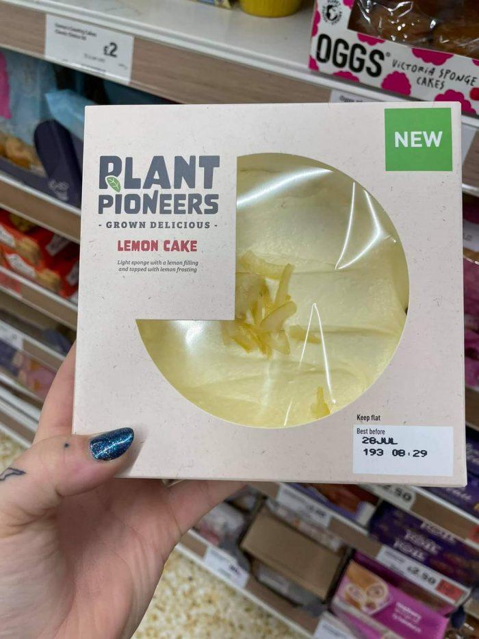 Sainsbury's Plant Pioneers Lemon Cake