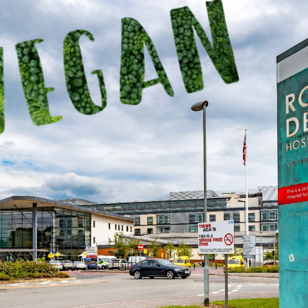 Vegan Food Menu Found At Royal Derby Hospital
