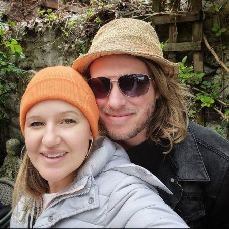 Liam and Janine portrait selfie
