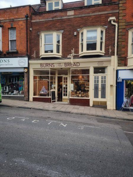 street shot of bakery