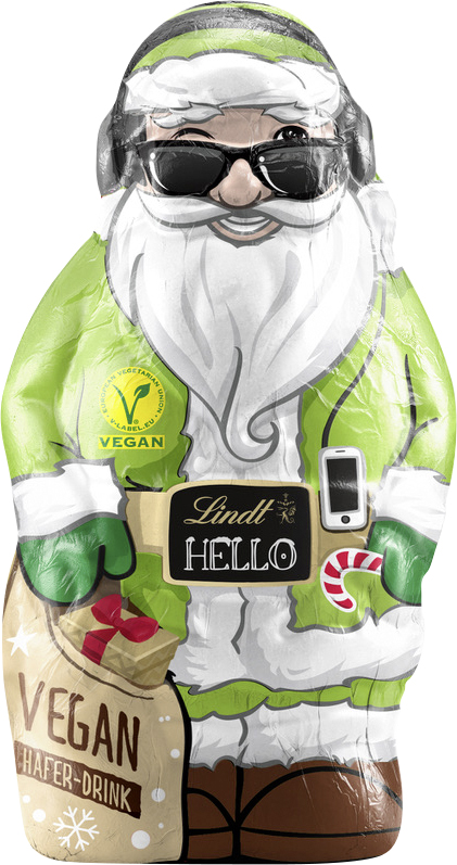 Vegan Chocolate Santa
