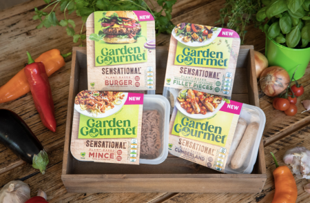 Packaged Garden Gourmet products