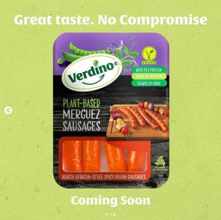Packing of vegan sausage
